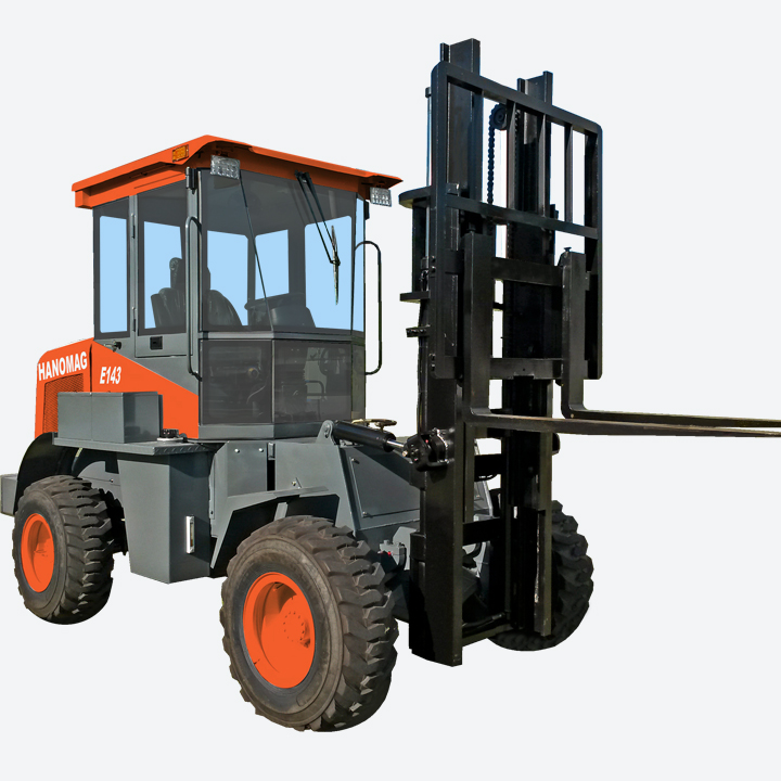Articulated Forklift
